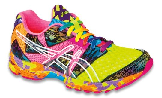 Asics Colourful Running Shoes