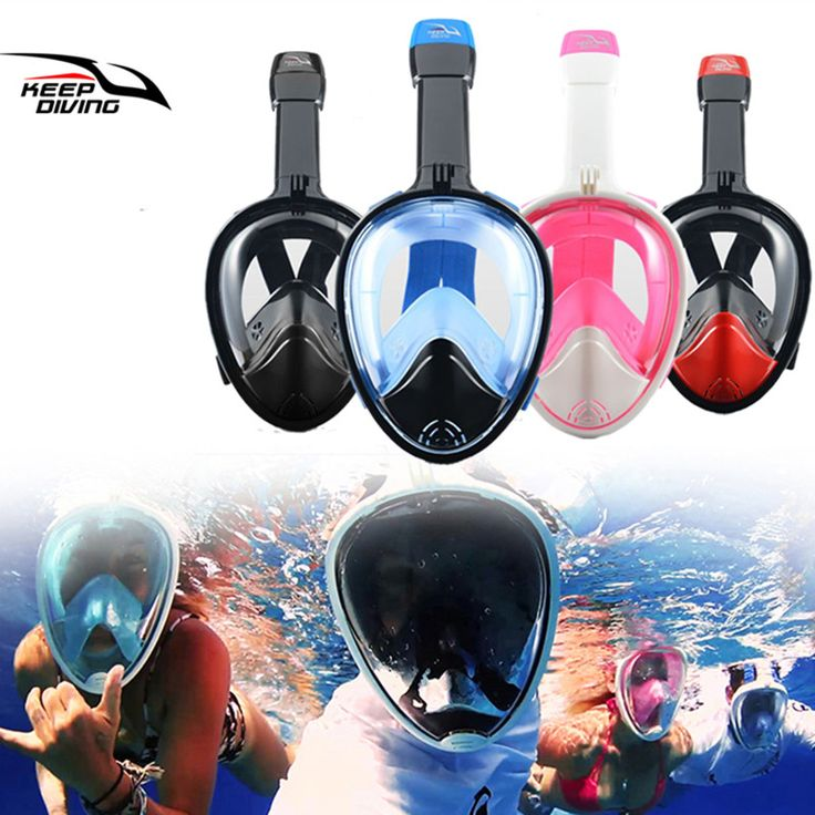 ==> [Free Shipping] Buy Best KEEP DIVING Underwater Full Face Snorkeling Mask Swimming Training Scuba Diving Mask Snorkel Set Anti Fog for Gopro Camera Online with LOWEST Price | 32793983949
