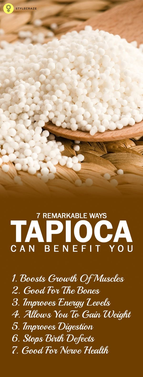 7 Remarkable Ways Tapioca Can Benefit You