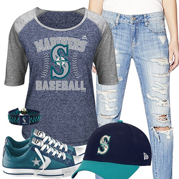 Seattle Mariners Converse Outfit
