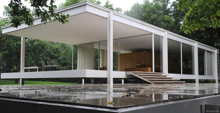die besten 25 farnsworth house ideen auf pinterest ludwig mies van der rohe farnsworth haus. Black Bedroom Furniture Sets. Home Design Ideas