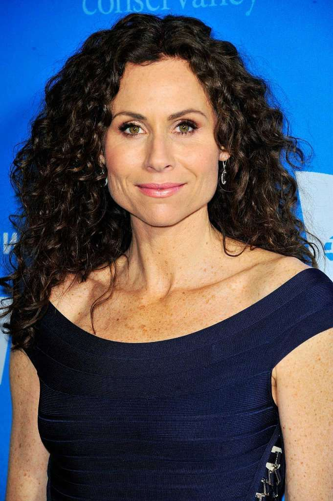 Minnie Driver Naturally Curly