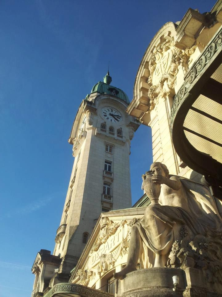 Horloge de la gare de Limoges photographiée par Laurent Bienfait