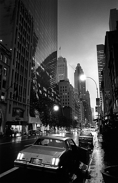 New York, 1992; photo by Jeanloup Sieff