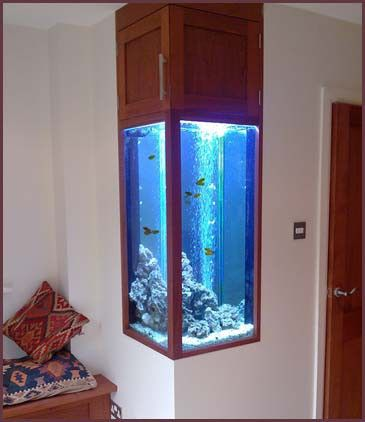 How to build fish tank cabinet woodworking projects plans for Fish tank built into wall