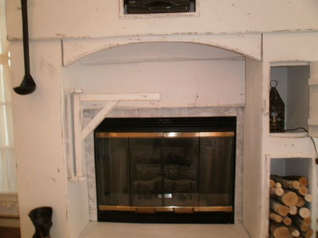 A Custom Made Fireplace Surround Made For A Gas Fireplace Fireplaces