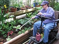 206 Best Accessible Gardens And Adaptive Gardening Images On Pinterest Raised Gardens Growing