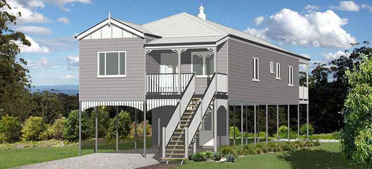 The Dawson 201: The Dawson was first designed for narrow, inner-city Brisbane allotments and has proved very popular because of its practicality. Convenience and affordability were the guiding principles in adapting the original to suit the Classic range.