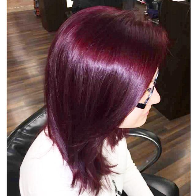 Permalink to Red Violet Hair Color