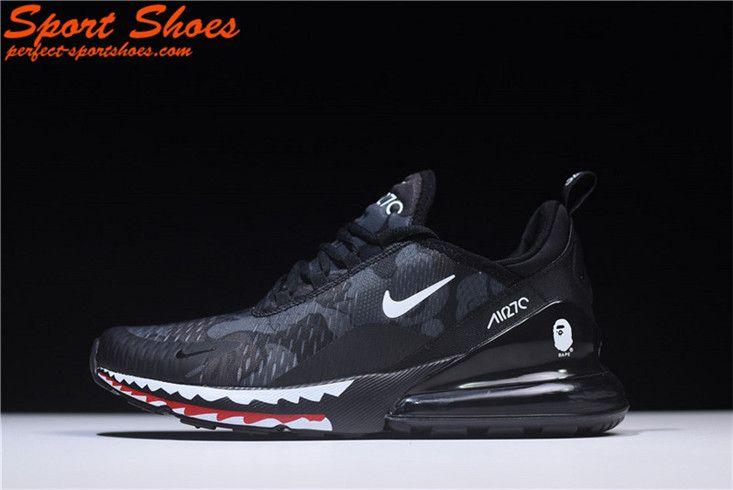 2018 Latest Nike Air Max 270 Black Shark Camo Ah6799 012 Mens Shoe Nike Shoes Air Max Nike Air Jordan Shoes Nike Air Max