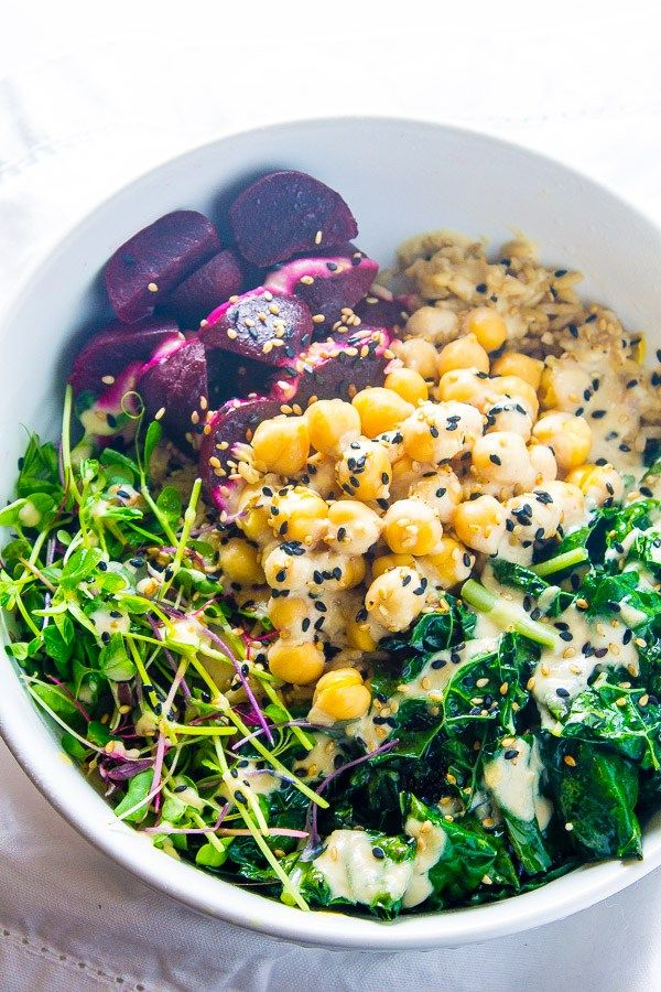 Detox Vegan Buddha Bowl - Lean Green Nutrition Fiend
