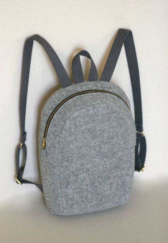 MACBOOK 13 FELT RUCKSACK backpack felt bag by FUTERAL on Etsy