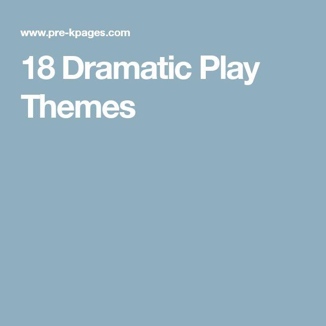 18 Dramatic Play Themes