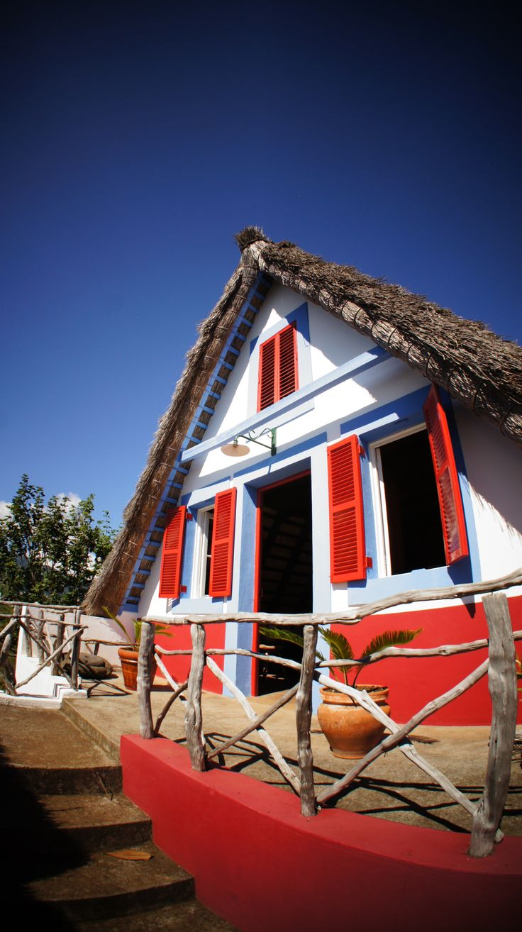 Visit our typical Casa de Santana at Quinta do Furao, Madeira Island, Portugal