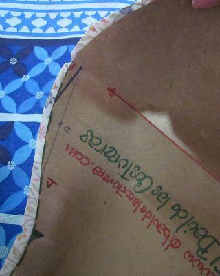 Patrón o molde de costura para vestido Huasa China