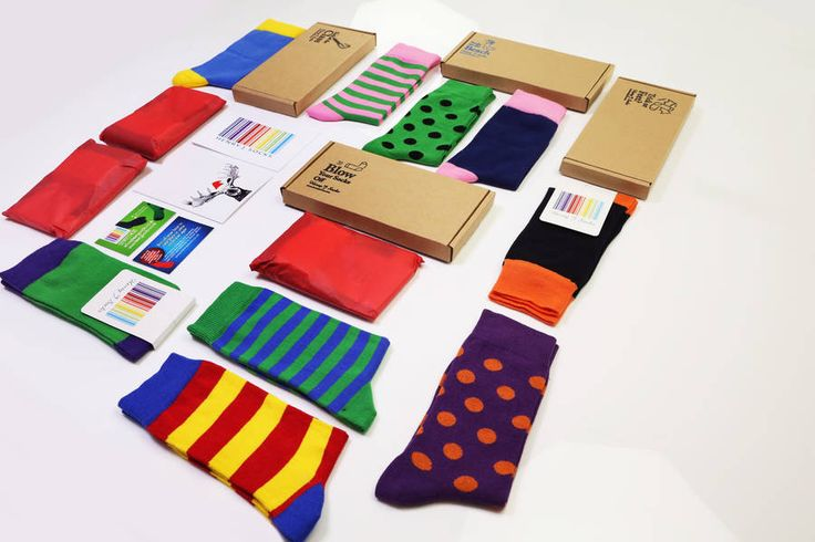 Sock Subscription- what a great gift idea :)