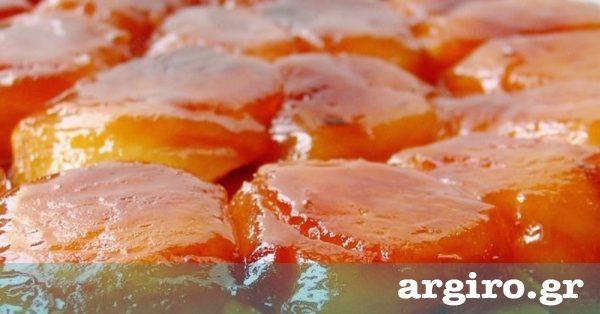 Τάρτα μήλου από την Αργυρώ Μπαρμπαρίγου | Κλασική και αγαπημένη tarte tatin με ζύμη σφολιάτας. Φτιάξτε την και απολαύστε τη ζεστή. Eίναι σκέτη μαγεία!