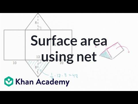 The surface area of a triangular prism can be found in the
