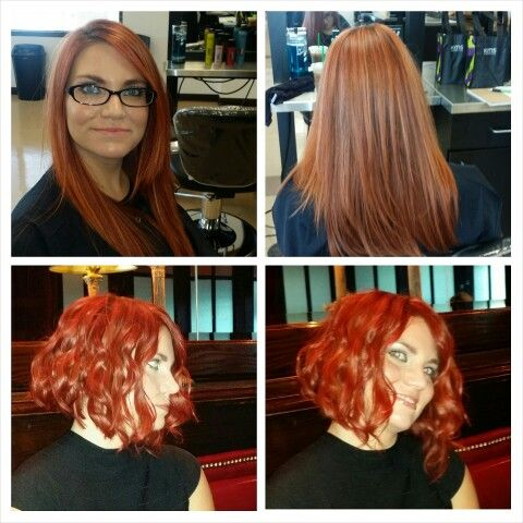 Great change for fall - love redheads!  Hair by Jesse Marcks