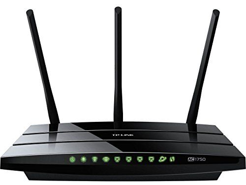 awesome TP-LINK Archer C7 AC1750 Dual Band Wireless AC Gigabit Router, 2.4GHz 450Mbps+5Ghz 1300Mbps, 2 USB Port, IPv6, Guest Network