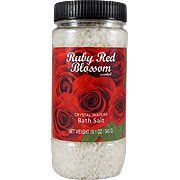 Ruby Red Blossom Bath Salt - For A Soothing Total Body Experience, 19.1 oz, by (Crystal Waters). $3.94. Save 44% Off!