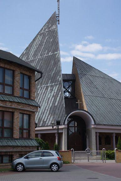 Kościół św. Maksymiliana Kolbego, arch. Bożena i Janusz A. Włodarczykowie,1983-1998 | Foto. Janusz A. Włodarczyk ©