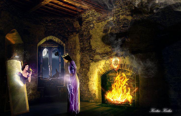 Snow White by ksilas on DeviantArt