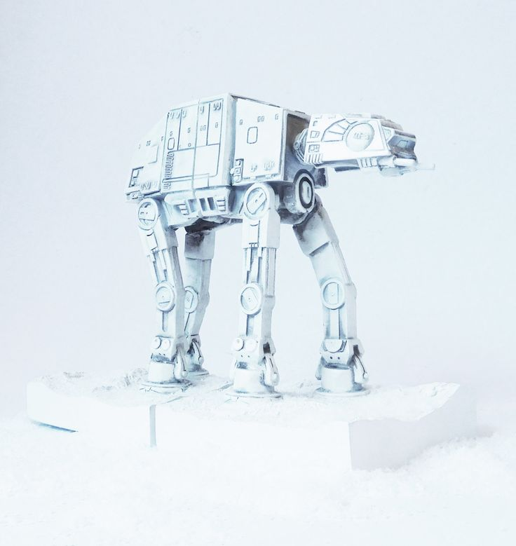 Imperial AT-AT Walker, Star Wars Figurine, The Empire Strikes Back, Space Decor, Bookends, Star Wars Decor, Star Wars, Science Fiction, by hodihomedecor on Etsy