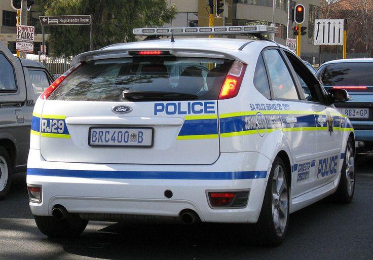 African Police Car