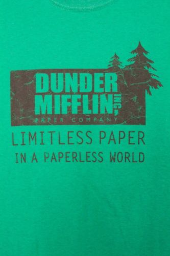 buy dunder mifflin paper Where would jim get the money to buy dunder mifflin pam received a very large chunk of money from dunder mifflin whey they bought out michael scott paper company.