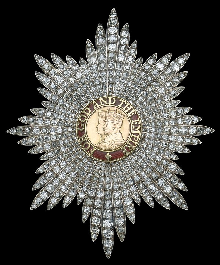 Order of the British Empire, G.B.E., Dame Grand Cross, a unique diamond-set breast star of the '2nd type', 97 x 80 mm, by Hennell of London, worn by H.R.H. Princess Mary, the Princess Royal. Obv.