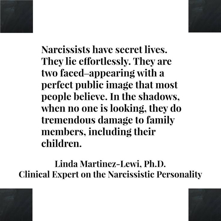 So True~ multiple personalities, lies easily, denies the lies when you call them out, accuses others of own faults, causes drama constantly, only nice when wants something and if doesn't get their way, watch out!