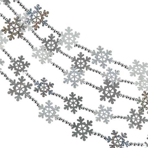 Snowflake Garland Decoration | Poundland