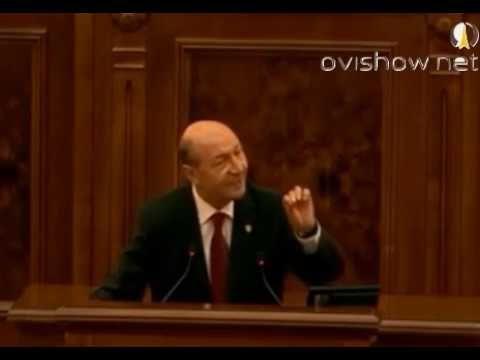 Fostul presedinte traian basescu discurs (al doilea ceausescu)