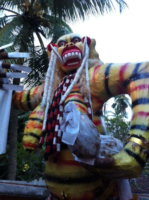 Ogoh - Ogoh Parade; one day before Nyepi in East Bali
