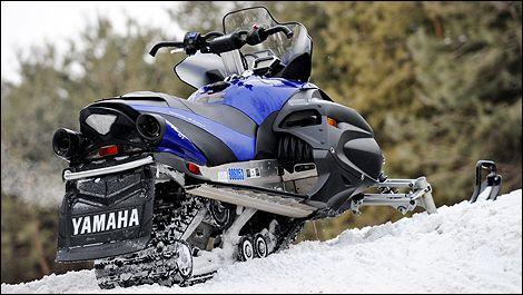 Motoneiges Yamaha 2010 : aperçu