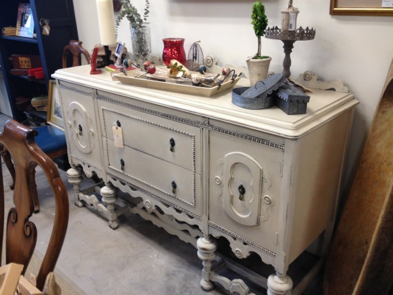 Hand Painted Buffet. $495.00, Via Etsy. Come And See Us At 410 S
