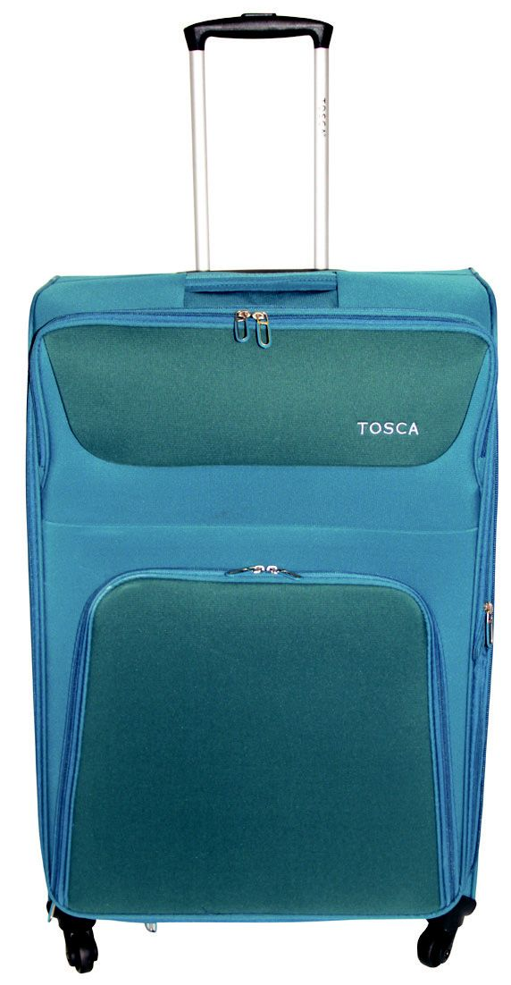 https://www.luggageladies.com/index.php?route=product/product&product_id=84  Tosca Executive Luggage - 60cm Trolley Case R1100  Features: Expanding Gusset in Lid, No.10 Zip On Main Compartment, Pull Out Trolley Handle, 4 Wheels, 210D Lining, Side Carry Handle, Embroidered Tosca Logo, Front Pocket  Range Consists Of: 50cm Cabin Size: 55 x 35 x 24+5 Weight: 2.5Kg Cap: 46L, 60cm Trolley Case Size: 65 x 41 x 28+5 Weight: 3Kg Cap: 75L, 70cm Trolley Case Size: 75 x 45.5 x 34+5 Weight: 3.5Kg Cap…