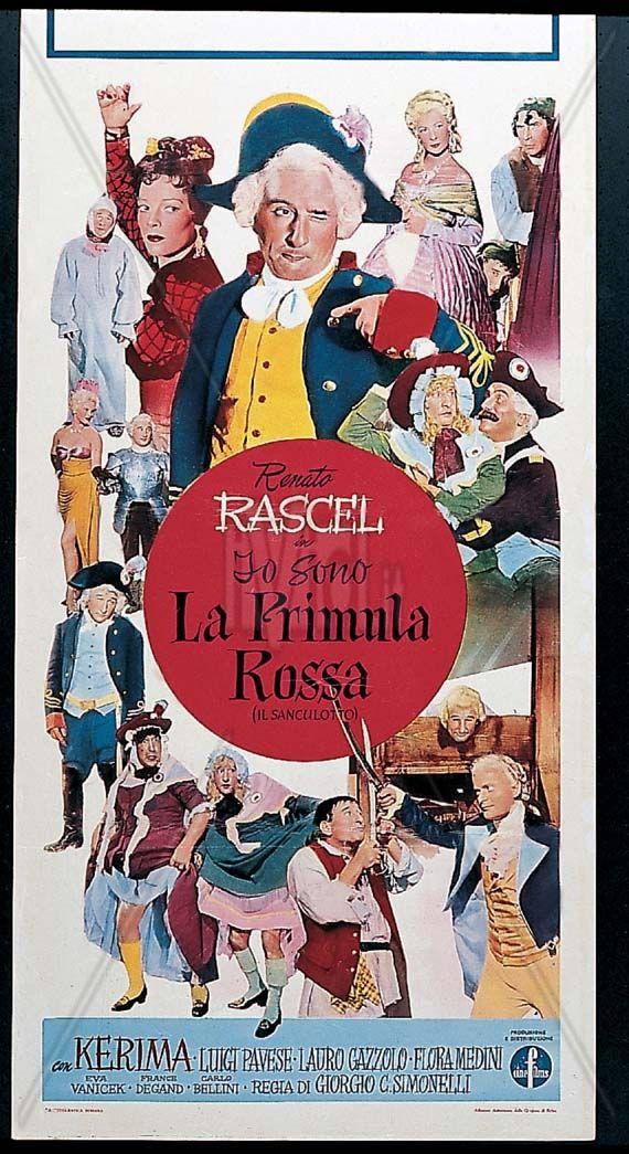 http://www.sergiofantoni.it/?route=cinema/1955 - Io sono la primula rossa