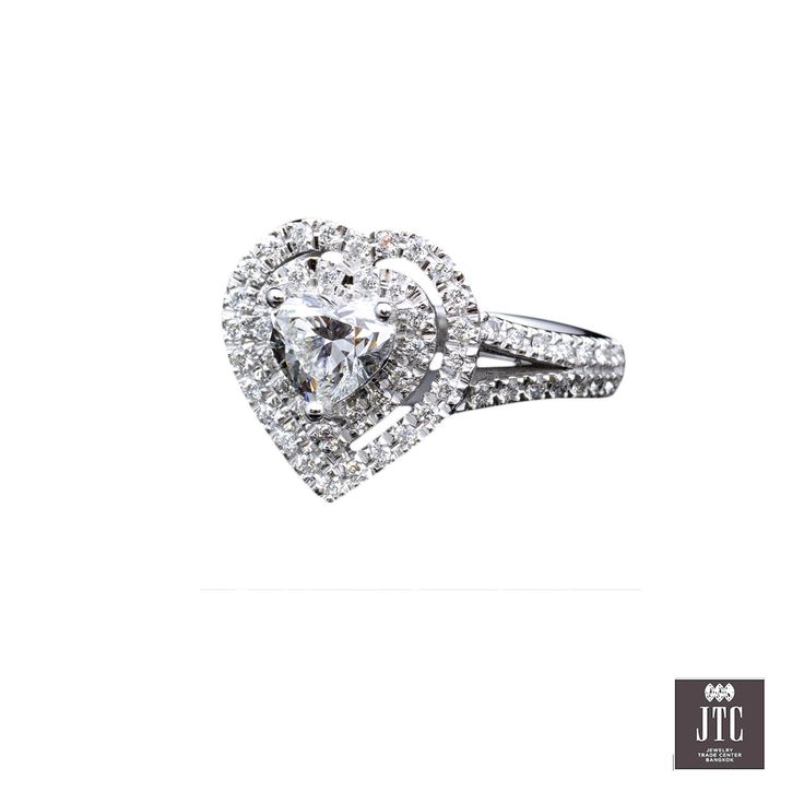 Heart Diamond by Trocadero Jewelry @Jewelry Trade Center (Bangkok) Specializing in diamonds,