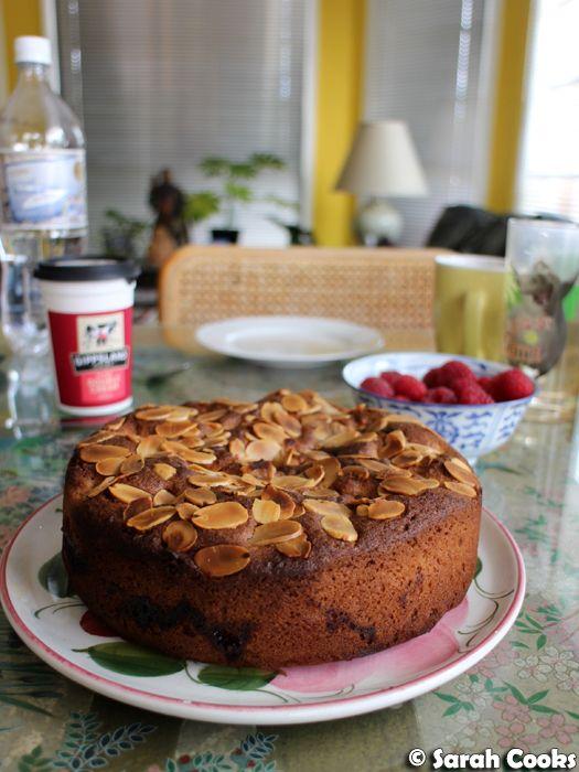 Raspberry Bakewell Cake    Guten morgen! So guess what! We