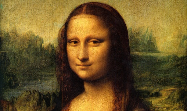 """""""Why is """"Mona Lisa"""" smiling? Because she just found out she's 10 years younger."""" The Louvre has confirmed that da Vinci's most famous work was painted a decade later than previously thought."""