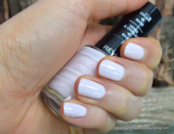 A very pretty pale pink. NOTD (Revlon ColorStay Gel Envy Longwear Nail Enamel in All Or Nothing) (1)