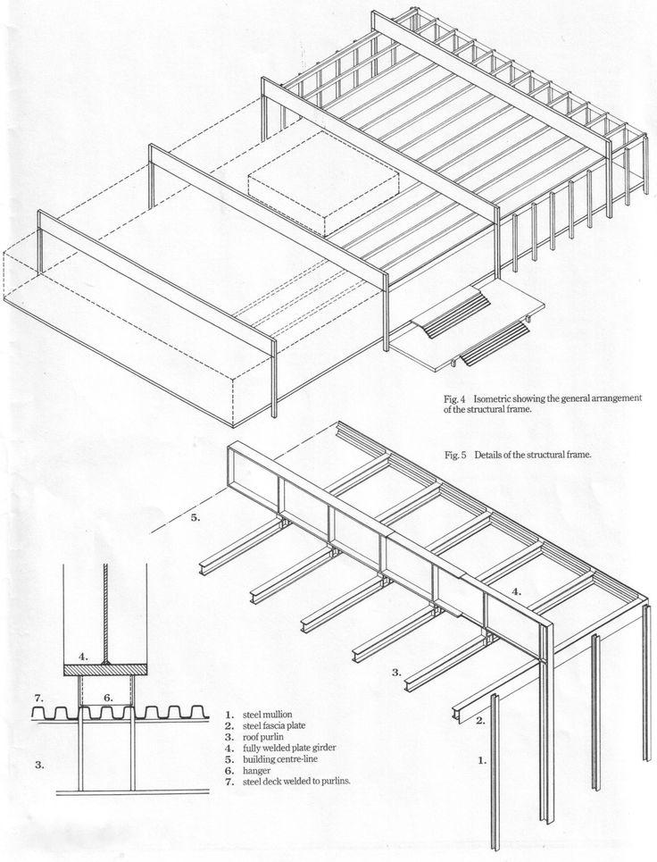 crown hall mies van der rohe detail mies van der rohe. Black Bedroom Furniture Sets. Home Design Ideas