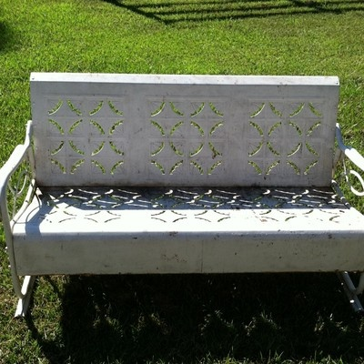 185 Best Images About Porch Gliders On Pinterest Metal Lawn Chairs Lawn Furniture And Metal