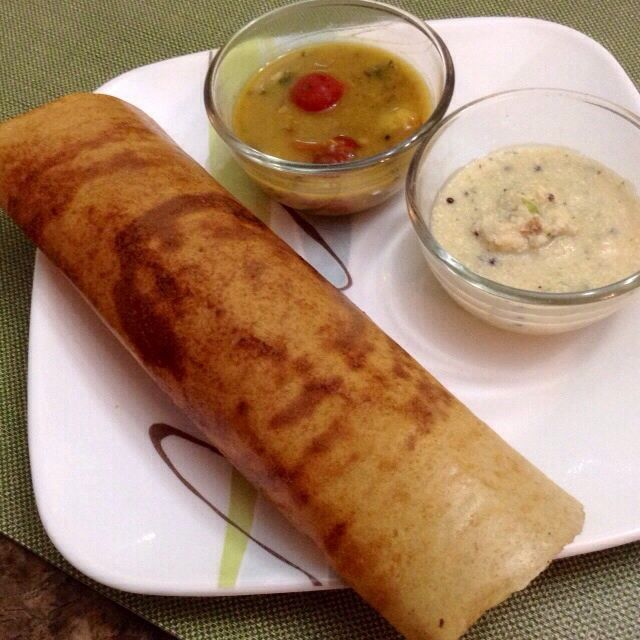 Who would have thought that Quinoa & Udad Dal could together create such wonderful magic! A Dosa for all those who are trying to watch their carbs!! Method: Soak 1 cup udad dal, 1 tbsp Chana dal, 1 tbsp moong dal, 2 cups Quinoa and 1 tsp methi dana overnight. Grind into a smooth thick...Read More »