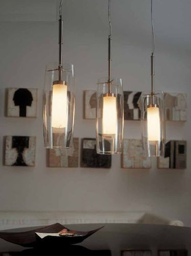 Lampe suspension / contemporaine / en verre / en verre soufflé PAN by ...
