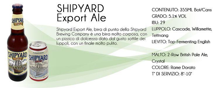 - F&G SRL Premium Worldwide Beverage - | Shipyard Ita #birraartigianaleamericana #buffalobeershop #beer #birra #usa #hops #luppoli #malt #malto #bottle #can #keykeg #spina #lattina #bottiglia #pint #pinta #ibu #ipa #pale #ale #red #black #blonde #drink #goodbeer #ilovebeer #tivogliobere #ofallonbrewery #missouri