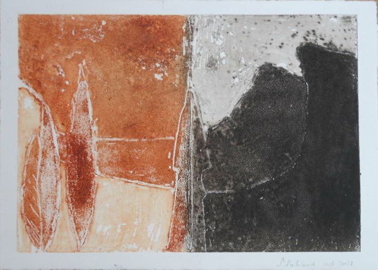 collagraphy S. Paliard 2013