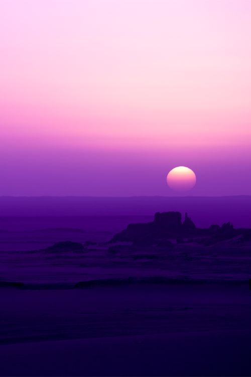 vurtual: Sunset in Tahaggart (by zoomion) - It Is What It Is